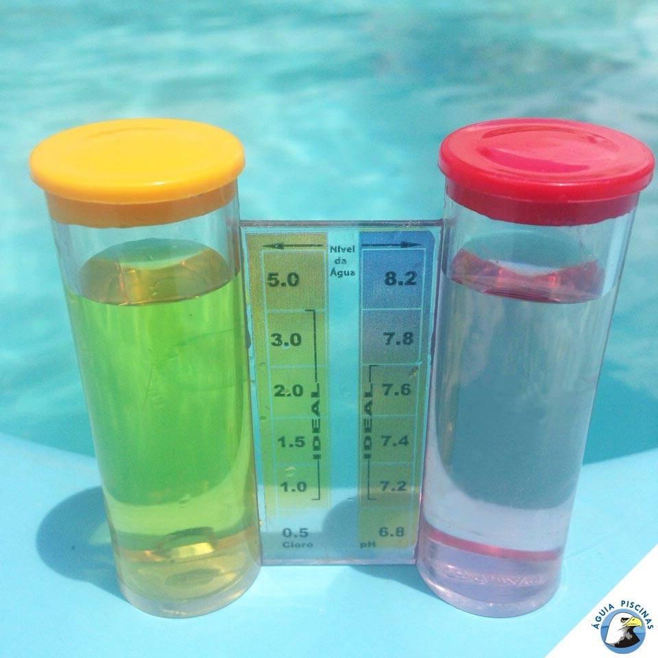 #Manutenção: O pH, indica a acidez ou basicidade da água, na água da piscina, pode variar de 0 a 14. Em piscinas residenciais o ideal é medi-lo semanalmente. Já em piscinas de uso coletivo, o controle deve ser diário ou de acordo com a legislação vigente.